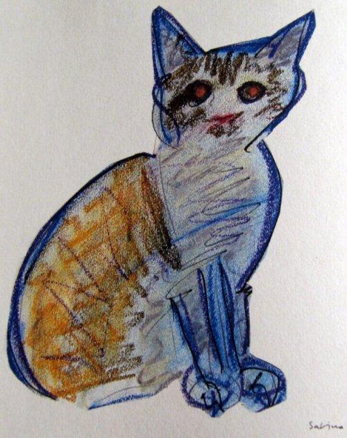 호아킨 사비나의 고양이 그림