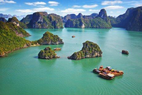 세계에서 가장 아름다운 7대 자연경관 하롱베이