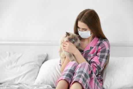 나에게 고양이 알레르기가 있을까?
