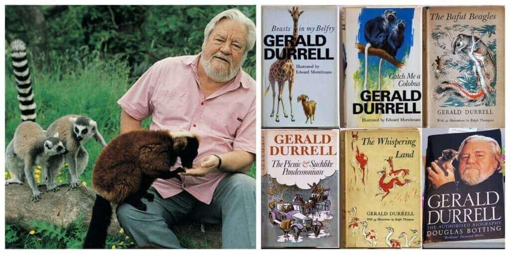 자연과 야생동물 보호의 선구자, 제럴드 더렐의 헌신